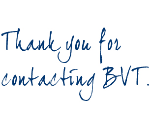 Thank you for contact BVT.