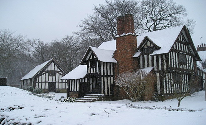 Image result for selly manor in snow
