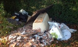 Reporting fly-tipping and dumped rubbish